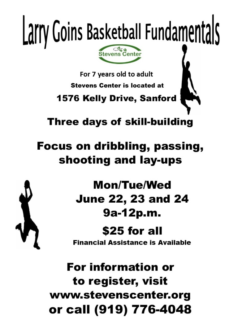 Larry Goins Basketball Fundamentals Camp